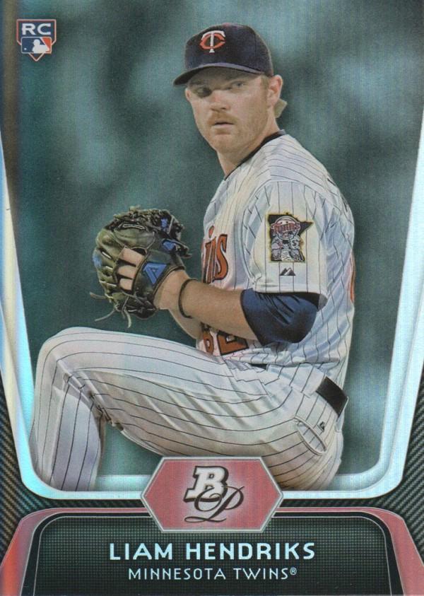 2012 Bowman Platinum #3 Liam Hendriks RC