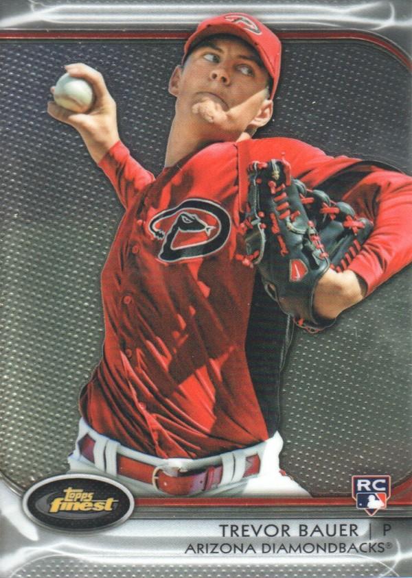 2012 Finest #92 Trevor Bauer RC