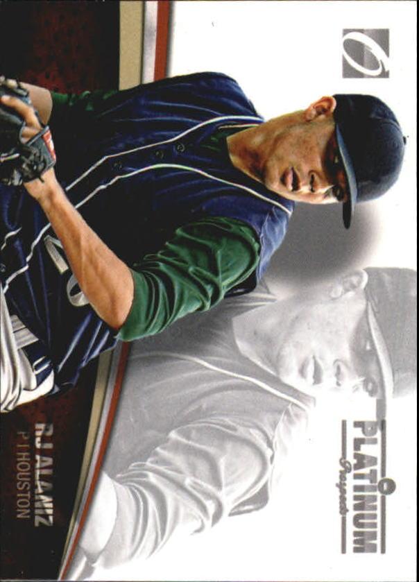 2012 Onyx Platinum Prospects #PP1 R.J. Alaniz