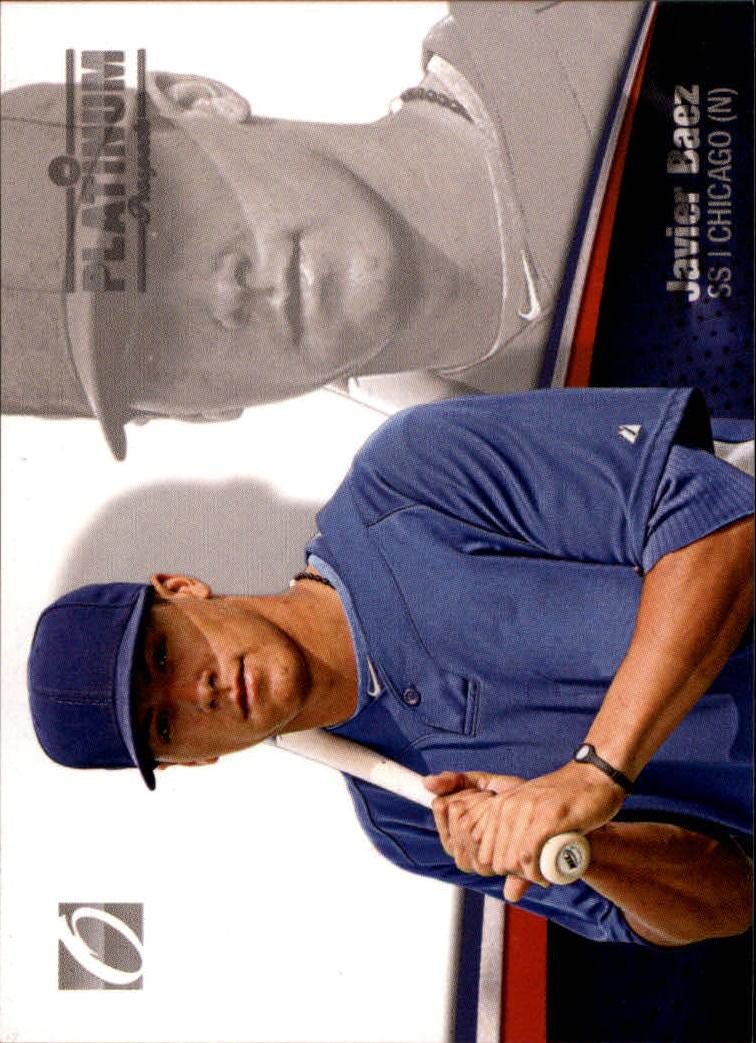 2012 Onyx Platinum Prospects #PP3 Javier Baez