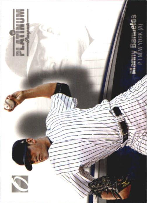 2012 Onyx Platinum Prospects #PP4 Manny Banuelos