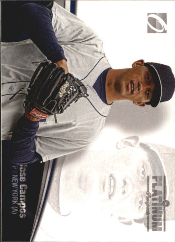 2012 Onyx Platinum Prospects #PP12 Jose Campos