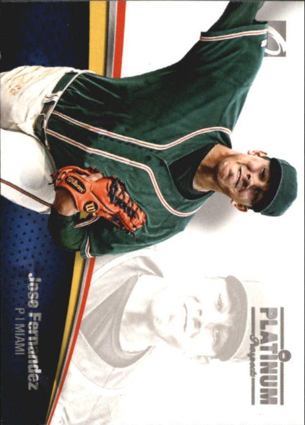 2012 Onyx Platinum Prospects #PP20 Jose Fernandez