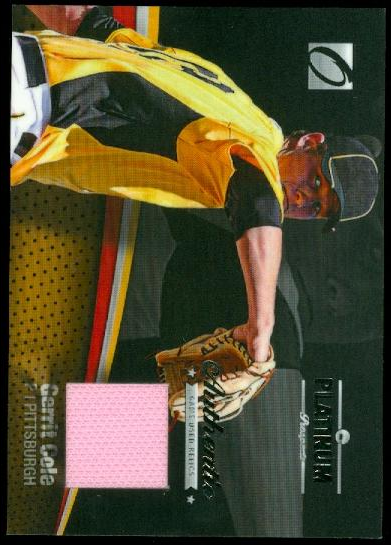2012 Onyx Platinum Prospects Game Used #PPGU5 Gerrit Cole/300