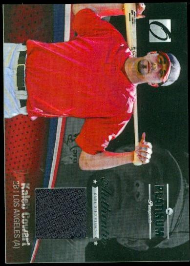 2012 Onyx Platinum Prospects Game Used #PPGU6 Kaleb Cowart/150