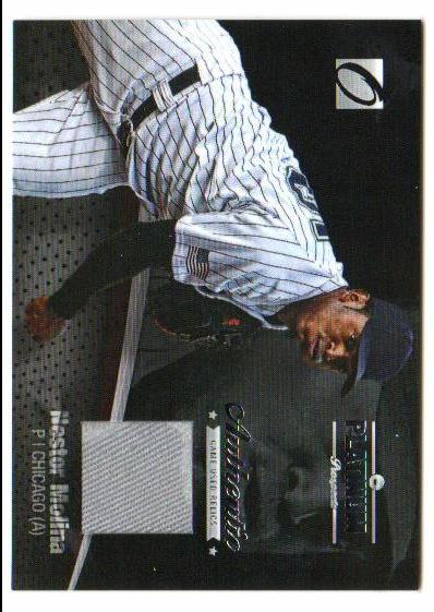 2012 Onyx Platinum Prospects Game Used #PPGU12 Nestor Molina/100