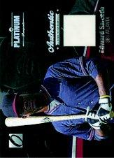 2012 Onyx Platinum Prospects Game Used #PPGU17 Edward Salcedo/100