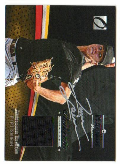 2012 Onyx Platinum Prospects Game Used Autographs #PPGU20 Jameson Taillon/30 *