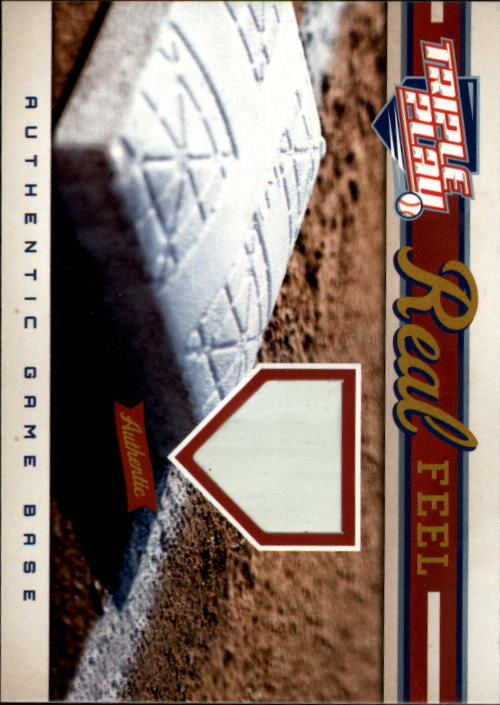 2012 Triple Play #295 Real Feel Base