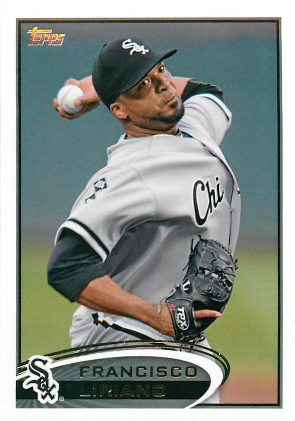 2012 Topps Update #US1A Francisco Liriano