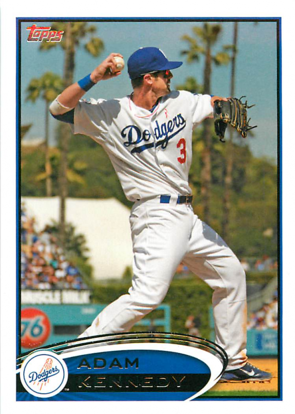 2012 Topps Update #US3A Adam Kennedy