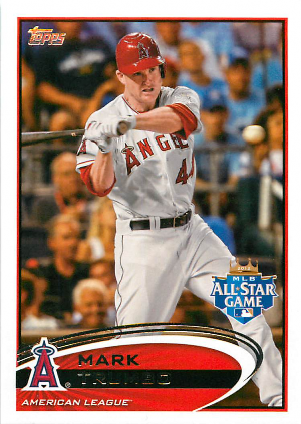 2012 Topps Update #US10A Mark Trumbo