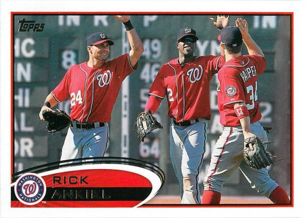 2012 Topps Update #US11 Rick Ankiel