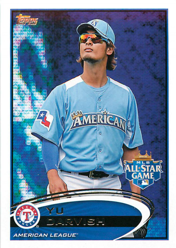 2012 Topps Update #US162A Yu Darvish RC