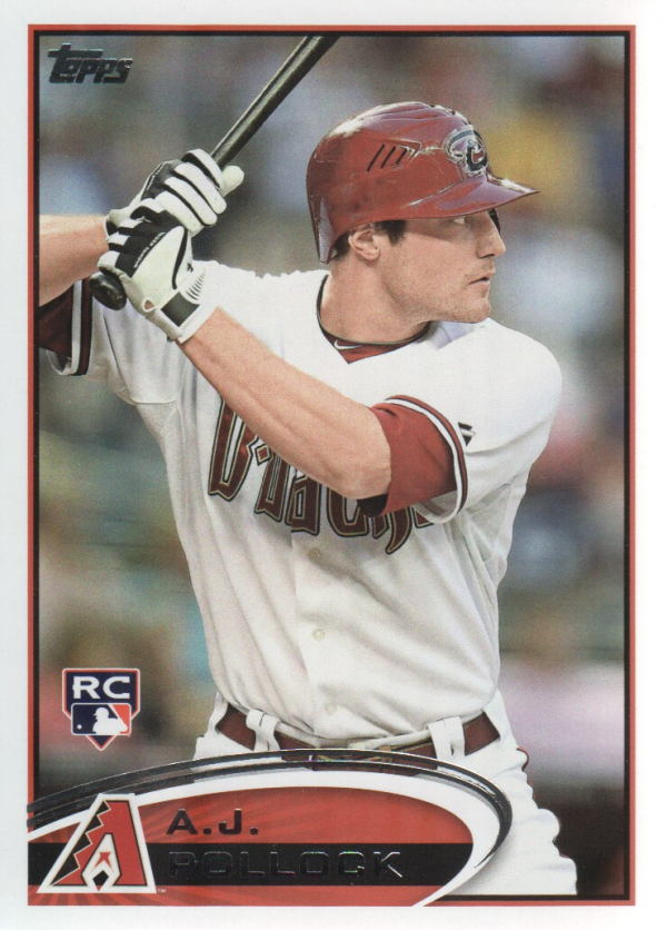 2012 Topps Update #US319 A.J. Pollock RC