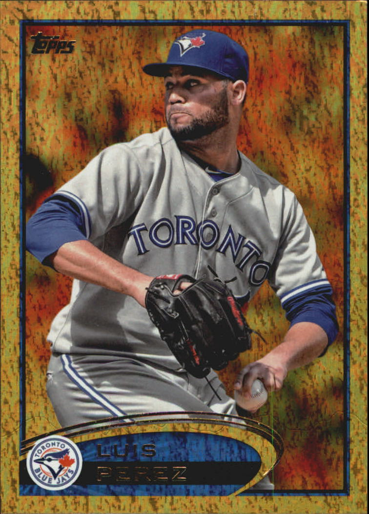2012 Topps Update Gold Sparkle #US8 Luis Perez
