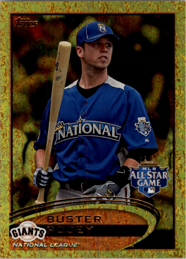 2012 Topps Update Gold Sparkle #US21 Buster Posey