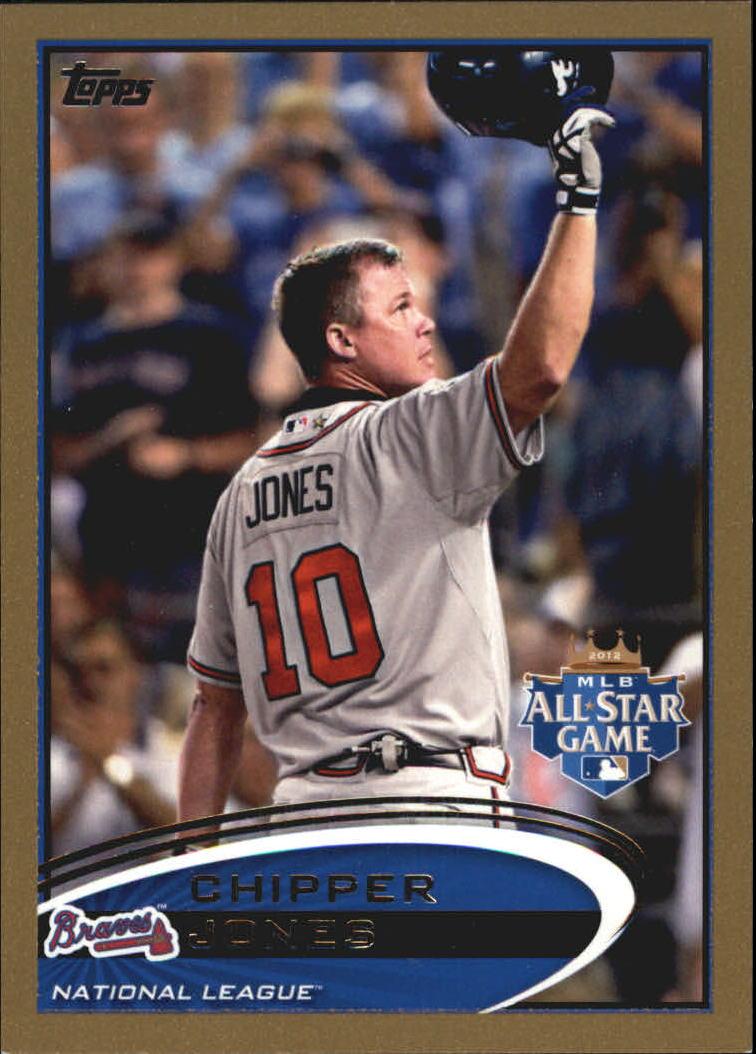 2012 Topps Update Gold #US166 Chipper Jones