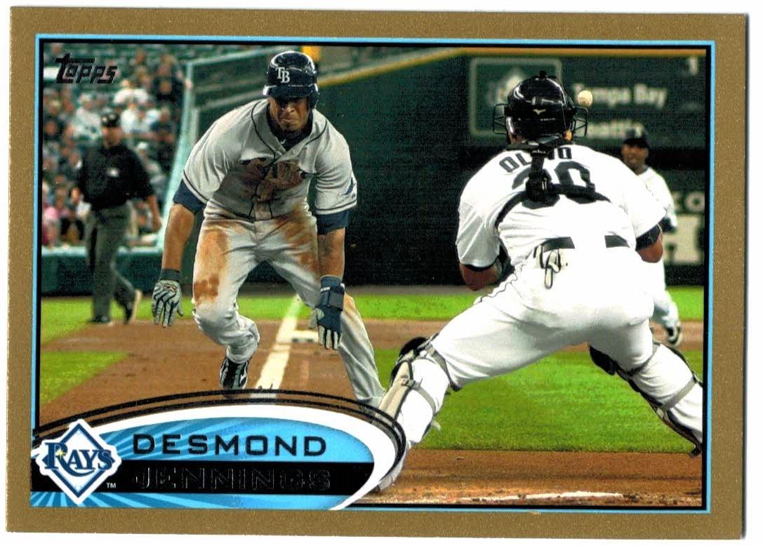 2012 Topps Gold #5 Desmond Jennings