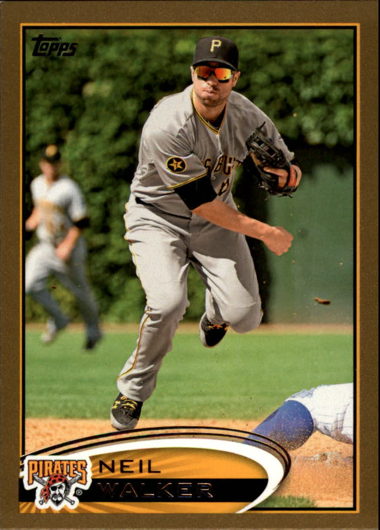 2012 Topps Gold #25 Neil Walker