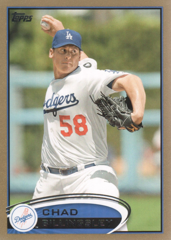 2012 Topps Gold #152 Chad Billingsley