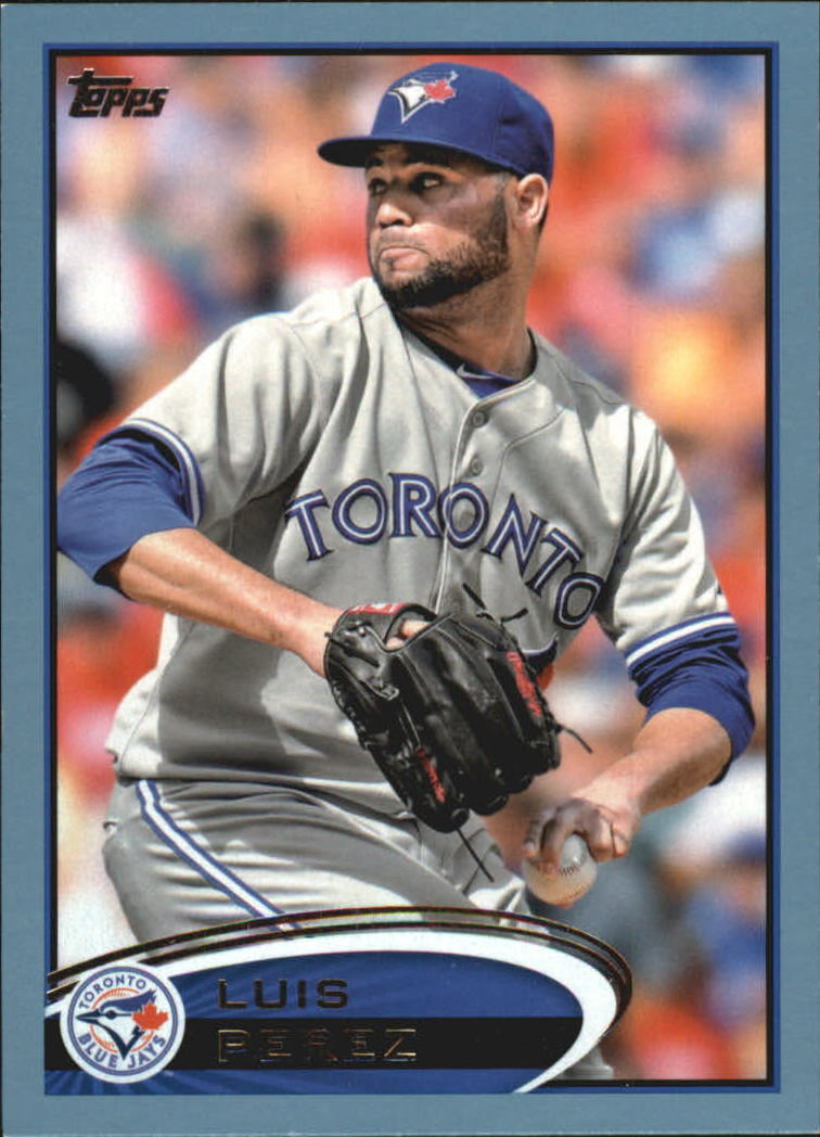 2012 Topps Update Wal-Mart Blue Border #US8 Luis Perez