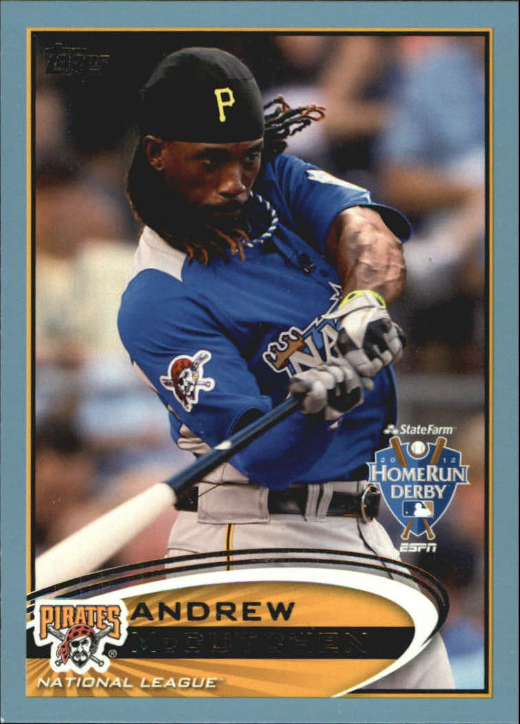 2012 Topps Update Wal-Mart Blue Border #US9 Andrew McCutchen