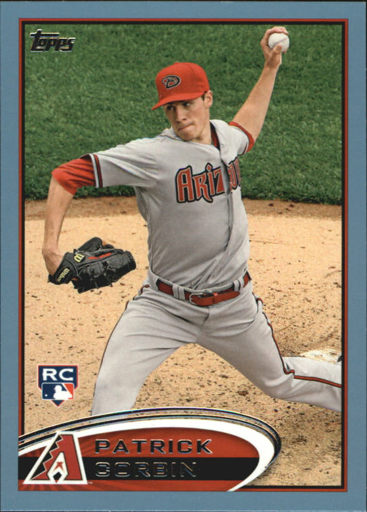 2012 Topps Update Wal-Mart Blue Border #US16 Patrick Corbin
