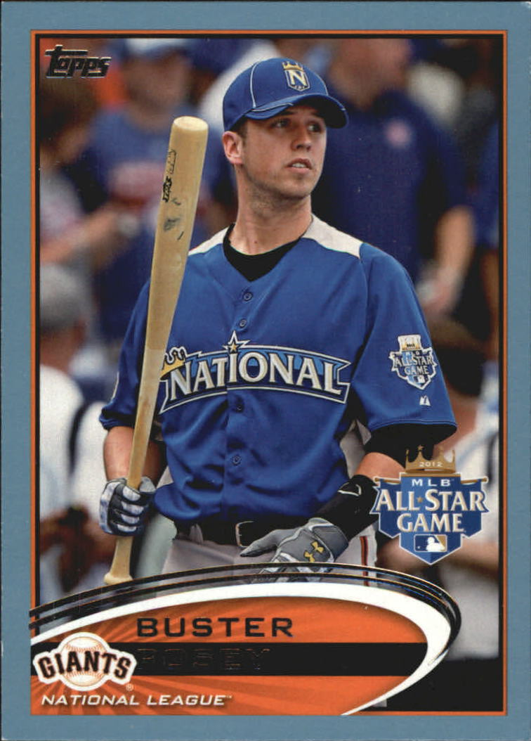 2012 Topps Update Wal-Mart Blue Border #US21 Buster Posey