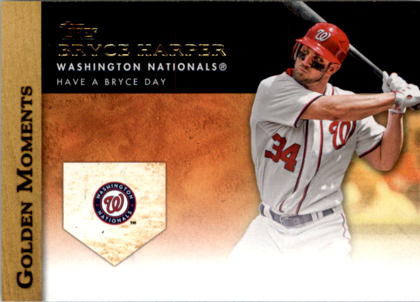 2012 Topps Update Golden Moments #GMU1 Bryce Harper