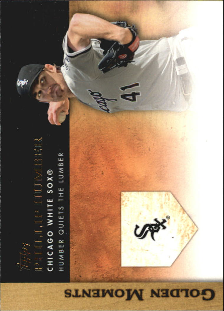 2012 Topps Update Golden Moments #GMU7 Philip Humber