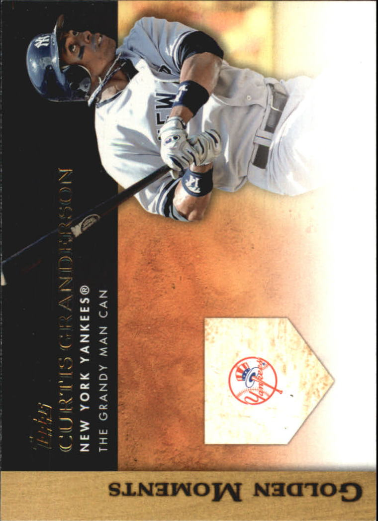 2012 Topps Update Golden Moments #GMU12 Curtis Granderson