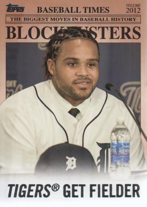 2012 Topps Update Blockbusters #BB10 Prince Fielder