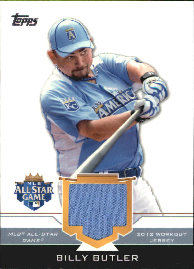 2012 Topps Update All-Star Stitches #BB Billy Butler