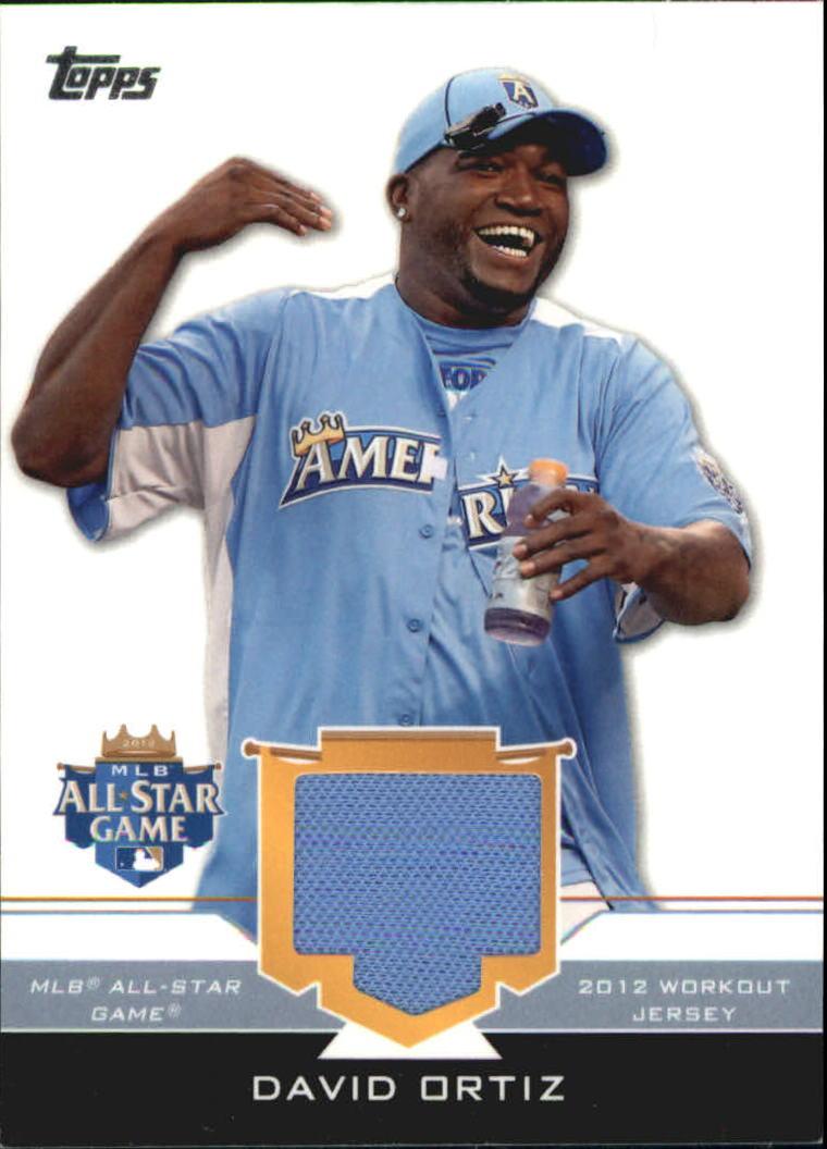 2012 Topps Update All-Star Stitches #DO David Ortiz