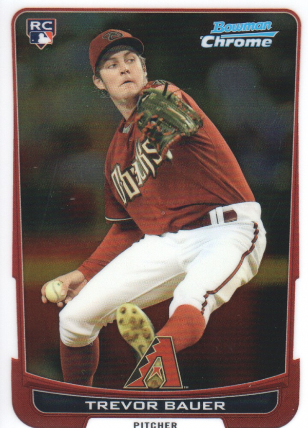 2012 Bowman Chrome #173 Trevor Bauer RC