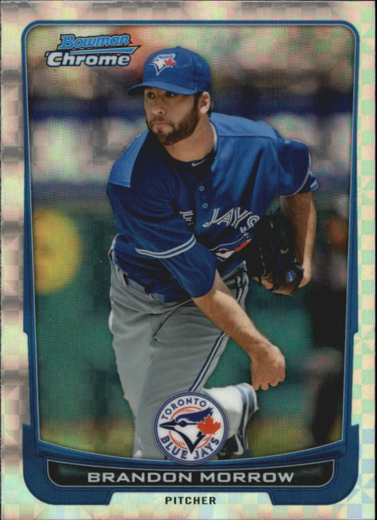 2012 Bowman Chrome Superfractors #13 Brandon Morrow