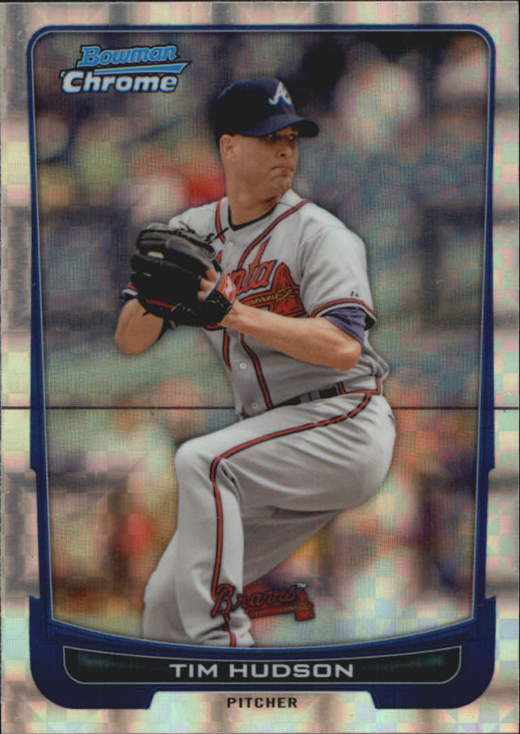 2012 Bowman Chrome Superfractors #17 Tim Hudson