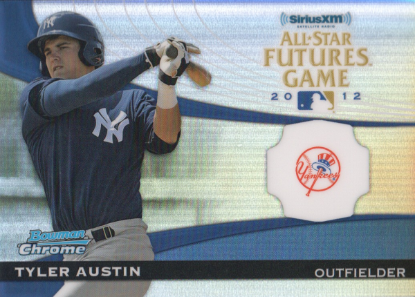 2012 Bowman Chrome Futures Game #TA Tyler Austin