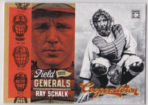 2012 Panini Cooperstown Field Generals #5 Ray Schalk