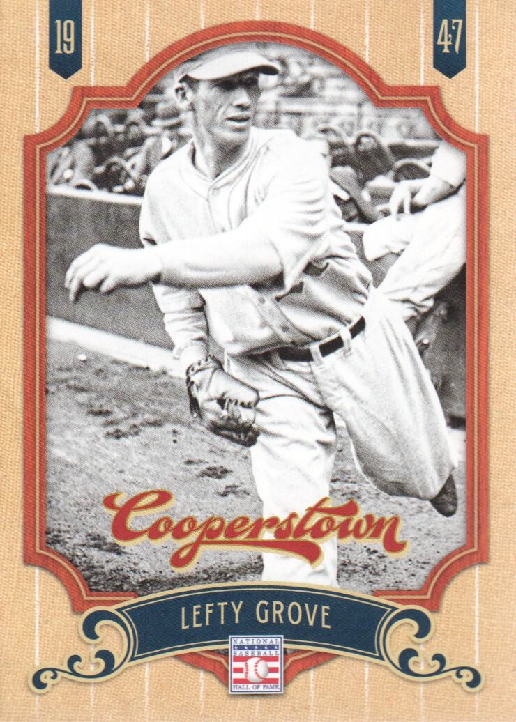 2012 Panini Cooperstown #36 Lefty Grove