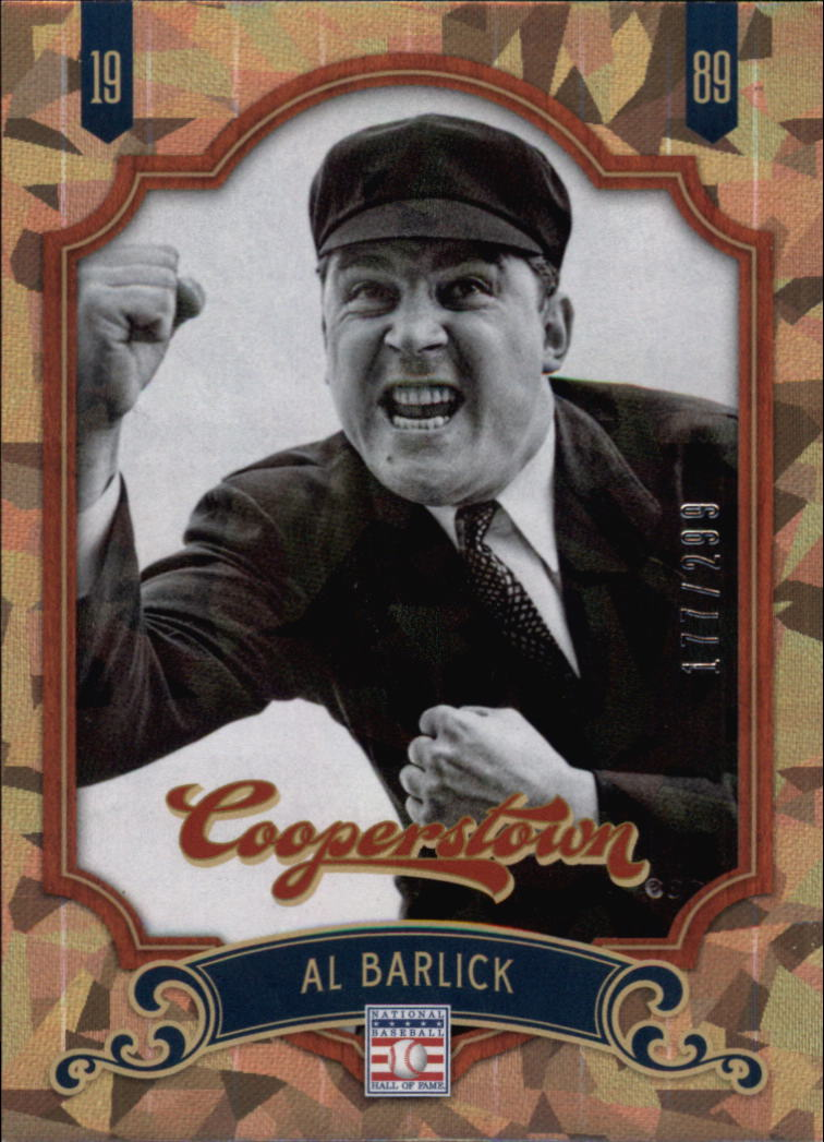 2012 Panini Cooperstown Crystal Collection #97 Al Barlick