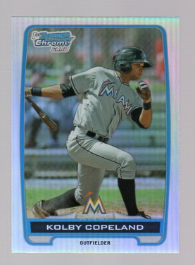 2012 Bowman Chrome Draft Draft Picks Refractors #BDPP53 Kolby Copeland