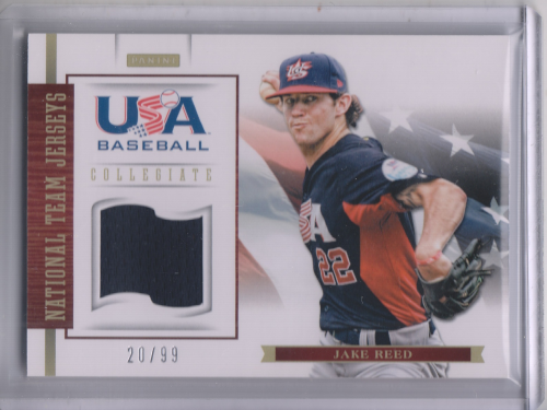 2012 USA Baseball Collegiate National Team Jerseys #17 Jake Reed