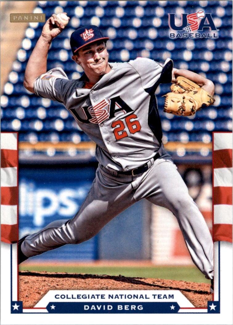 2012 USA Baseball #1 David Berg
