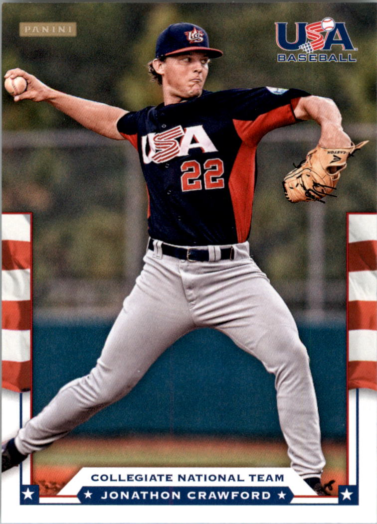 2012 USA Baseball #6 Jonathon Crawford