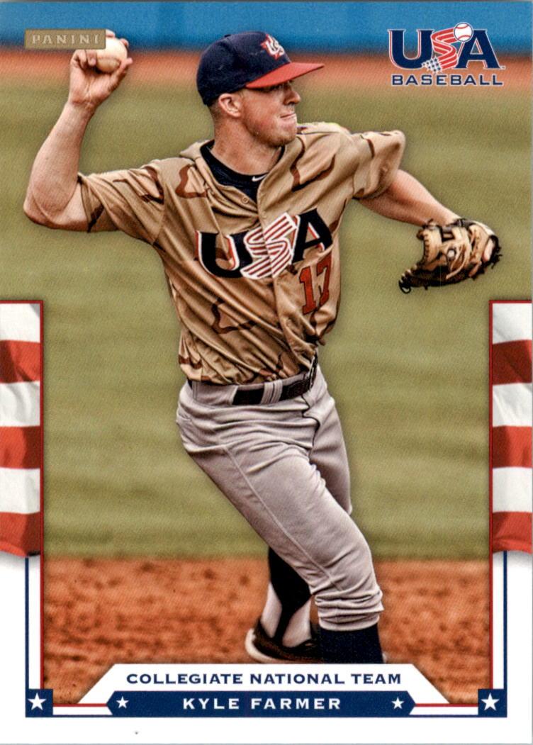 2012 USA Baseball #7 Kyle Farmer