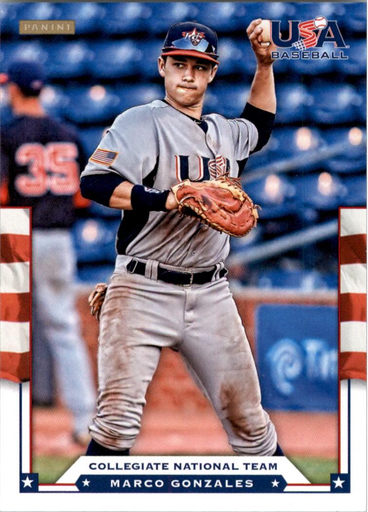 2012 USA Baseball #10 Marco Gonzales