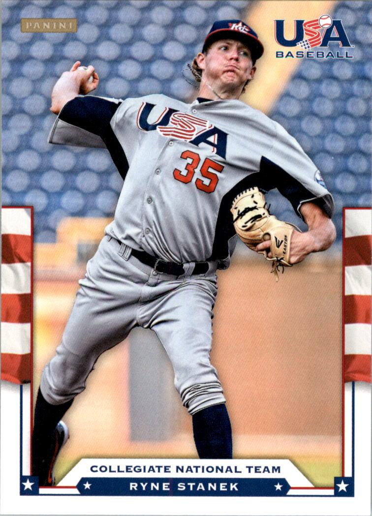 2012 USA Baseball #19 Ryne Stanek