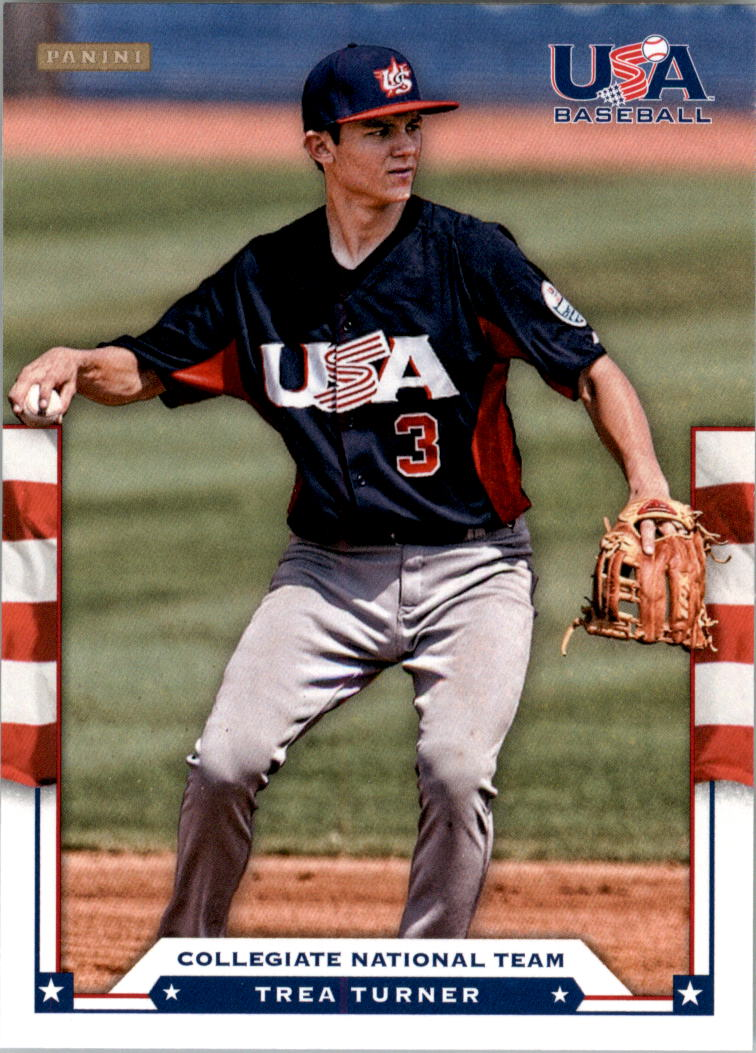 2012 USA Baseball #21 Trea Turner
